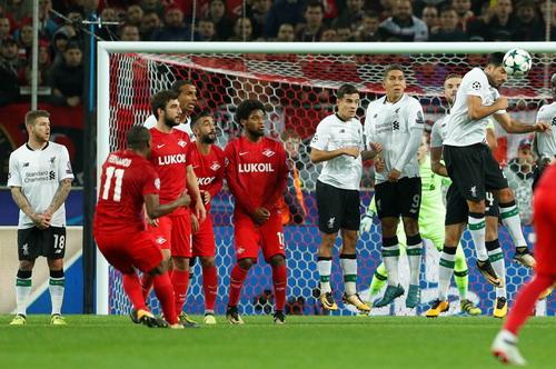 Bộ tứ siêu đẳng Liverpool bất lực trước chủ nhà Spartak Moscow - Ảnh 3.