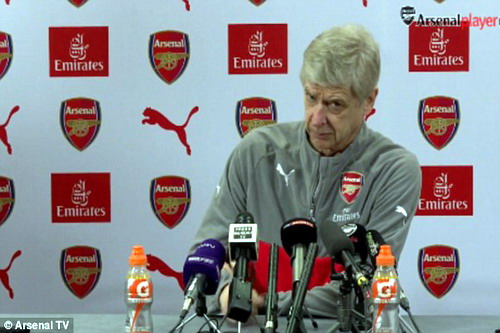 Wenger không còn nhiều tự tin với Arsenal