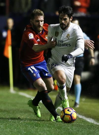 Isco tái lập thế dẫn bàn cho Real Madrid