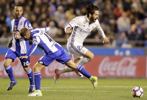 Isco khẳng định vai trò không thể thay thế ở Real Madrid