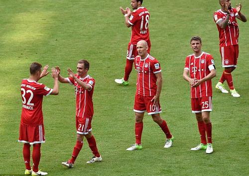 Bayern Munich giã biệt Lahm và Alonso - Ảnh 2.
