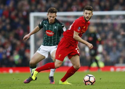 Adam Lallana cũng không giúp Liverpool tìm được chiến thắng
