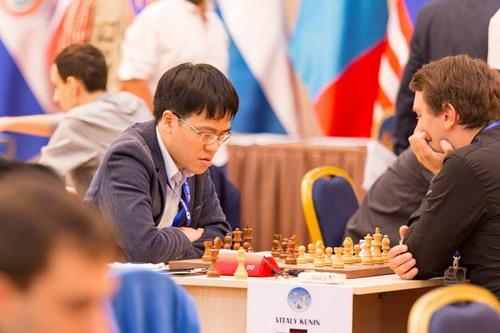 Lê Quang Liêm vào vòng 2 World Cup cờ vua 2017 - Ảnh 1.