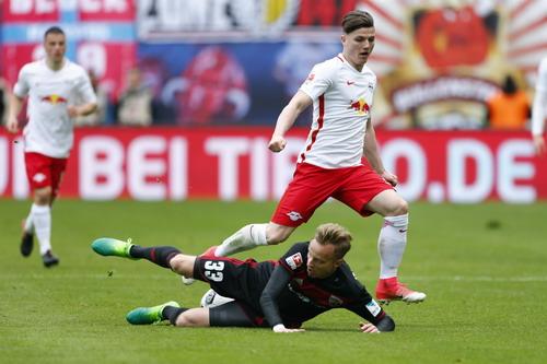 Chú bò cụng Leipzig lần đầu chào sân Champions League - Ảnh 5.