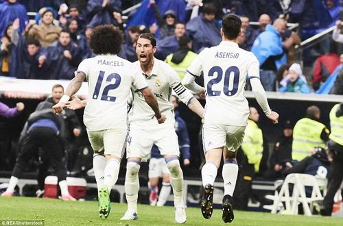 Marcelo cứu Ronaldo và Real Madrid