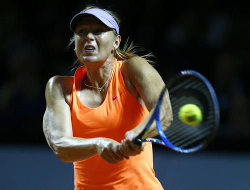 Sharapova dừng bước ở bán kết Stuttgart