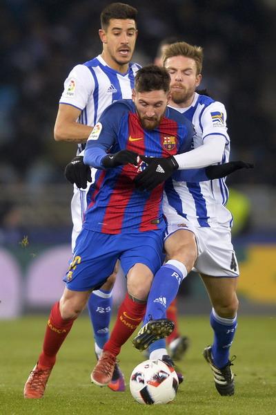 Messi lỡ cơ hội có bàn thắng thứ 5 liên tiếp từ đá phạt
