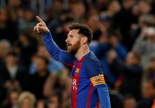 Messi có màn trình diễn siêu hạng, mở tỉ số ở Nou Camp