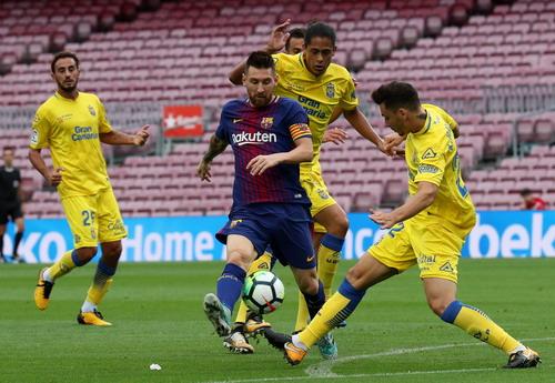 Nou Camp không khán giả, Barcelona đè bẹp Las Palmas - Ảnh 4.