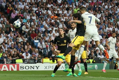 Ronaldo mở tỉ số sau đường kiến tạo của Casemiro
