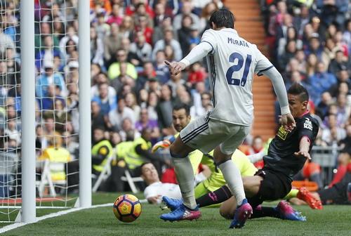 Morata và bàn thắng mở tỉ số