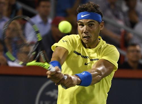 Thua đối thủ 18 tuổi, Nadal chia tay sớm Roger Cup - Ảnh 2.