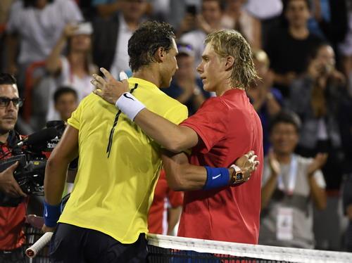 Thua đối thủ 18 tuổi, Nadal chia tay sớm Roger Cup - Ảnh 4.