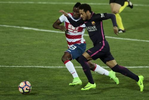 Neymar lập công, góp mặt ở CLB 18 gồm các chân sút ghi 100 bàn cho Barca
