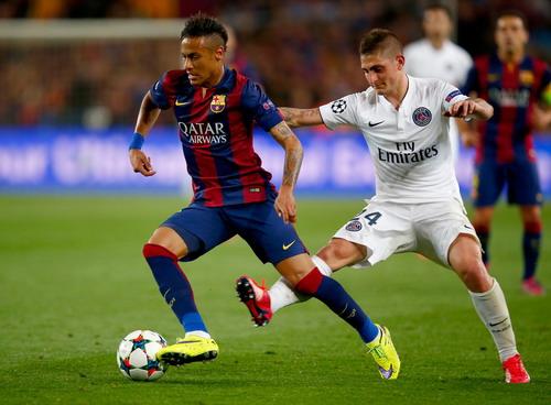 Neymar cũng là mối đe dọa tiềm tàng cho đội chủ nhà PSG