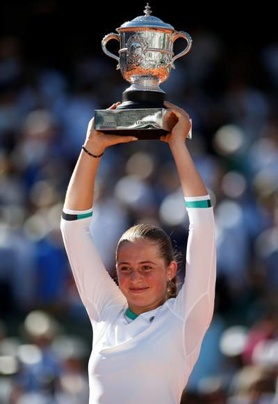 Tay vợt tuổi teen Ostapenko đăng quang Roland Garros - Ảnh 4.