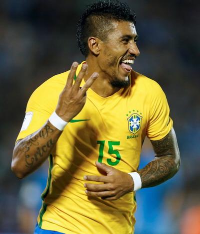 Paulinho hoàn tất cú hat-trick, đưa Brazil vào vòng chung kết World Cup 2018