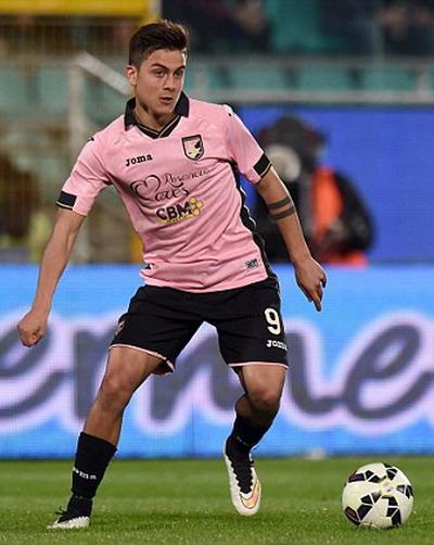 Paulo Dybala gia nhập Palermo khi mới 18 tuổi