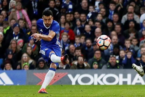 Pedro mở tỉ số và ghi bàn ấn định kết quả chung cuộc 4-1