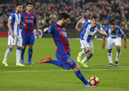 ...nhất là quả phạt đền phút 90 mà Messi thực hiện thành công