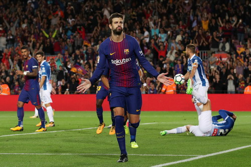 Messi lập hat-trick, Barcelona thắng đậm đại chiến Catalunya - Ảnh 4.
