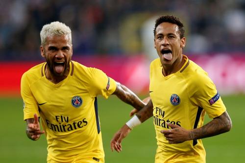 Neymar, Cavani cùng tỏa sáng, PSG đại thắng trên đất Bỉ - Ảnh 4.