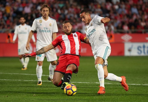 Ronaldo lại im tiếng, Real Madrid thua sốc tí hon Girona - Ảnh 2.