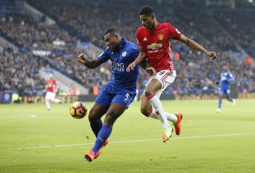 Rashford thi đấu đầy nỗ lực, liên tiếp đe dọa khung thành Leicester