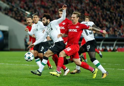 Bộ tứ siêu đẳng Liverpool bất lực trước chủ nhà Spartak Moscow - Ảnh 2.