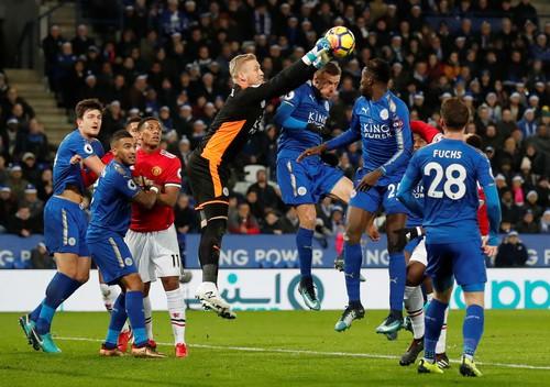 Thủng lưới phút bù giờ, Man United ôm hận với Leicester - Ảnh 2.
