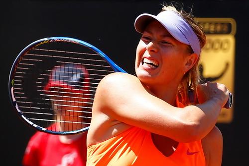 Mất suất đến Pháp, Sharapova bỏ cuộc ở Rome Open - Ảnh 1.