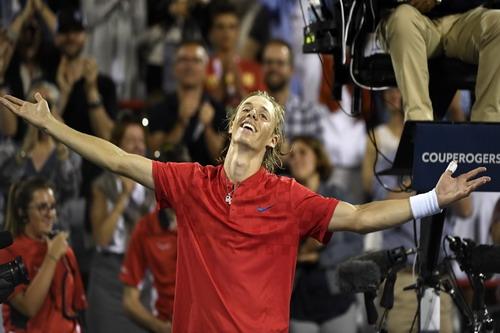 Thua đối thủ 18 tuổi, Nadal chia tay sớm Roger Cup - Ảnh 5.