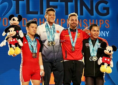Thạch Kim Tuấn vô địch cử tạ thế giới hạng 56kg - Ảnh 3.