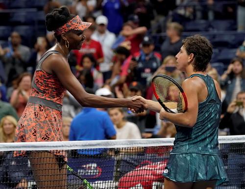 Búp bê Sharapova chia tay giải Mỹ mở rộng - Ảnh 6.