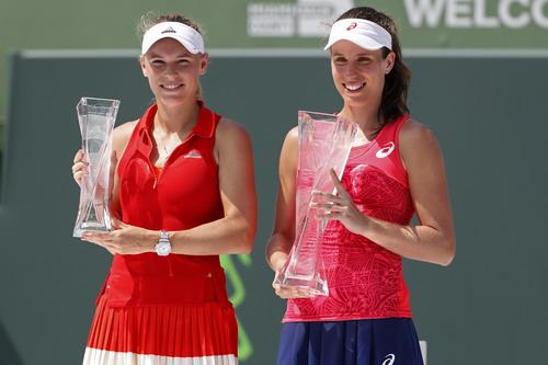 Konta là tay vợt nữ Anh quốc đầu tiên vô địch Miami Open