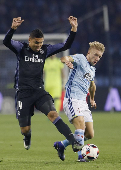 Daniel Wass đưa Celta Vigo vượt lên phút 85