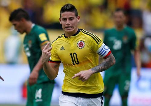 James Rodriguez thăng hoa mỗi khi trở về đội tuyển Colombia