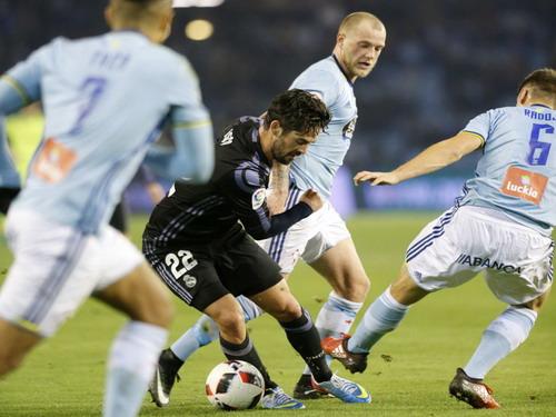 Isco trong vòng vây đội chủ nhà Celta Vigo
