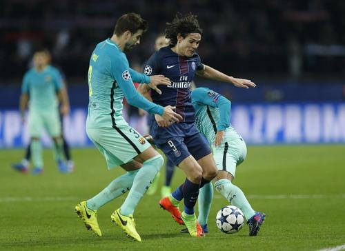 Cavani ấn định chiến thắng không tưởng 4-0 cho PSG