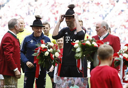 Bayern Munich giã biệt Lahm và Alonso - Ảnh 6.