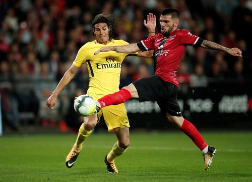 Neymar chào sân đẳng cấp, PSG đè bẹp Guingamp - Ảnh 3.