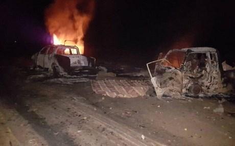 Syria: IS đánh bom tự sát liền 3 vụ, hơn 50 người chết - Ảnh 1.