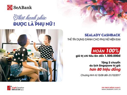 SeABank ra mắt thẻ tín dụng dành riêng cho phụ nữ - Ảnh 1.