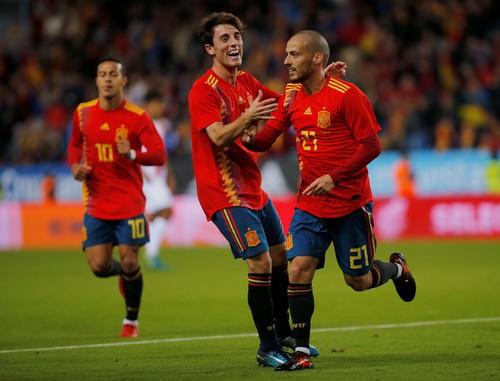 Dàn sao Argentina, Tây Ban Nha tỏa sáng loạt trận giao hữu - Ảnh 8.