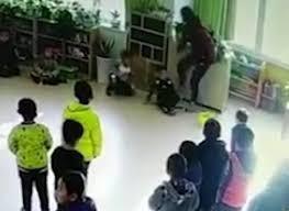 Cô giáo mầm non đấm, tát, đạp vào ngực học sinh dã man - Ảnh 2.