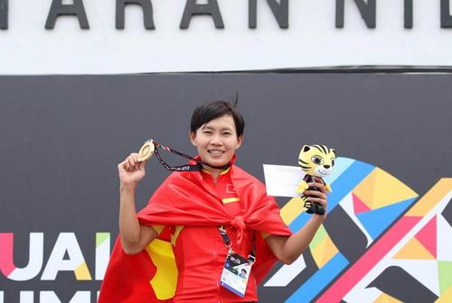 SEA Games ngày 23-8: Cú đúp vàng của Lê Tú Chinh - Ảnh 17.