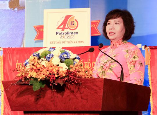 Thứ trưởng Bộ Công Thương Hồ Thị Kim Thoa