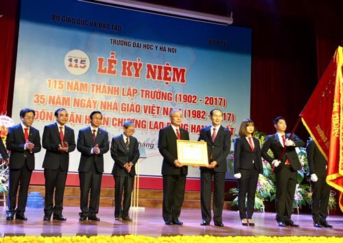 Trường ĐH Y Hà Nội kỷ niệm 115 năm thành lập - Ảnh 1.