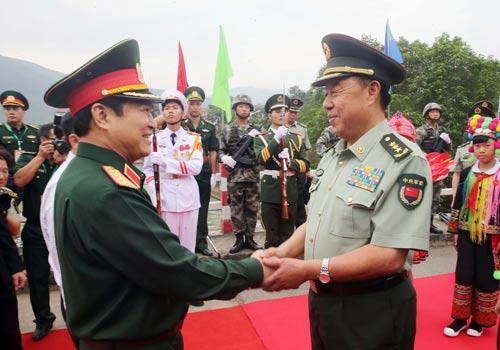 Xây dựng biên giới Việt - Trung hòa bình - Ảnh 1.