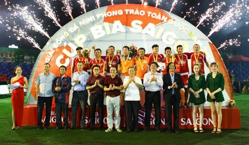 Quahaco FC vô địch khu vực Bình Định - Ảnh 1.
